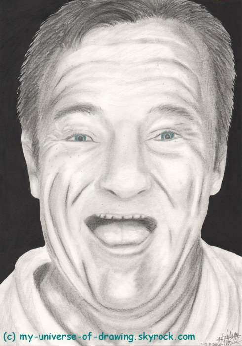 Robin Williams by AngelRainbow